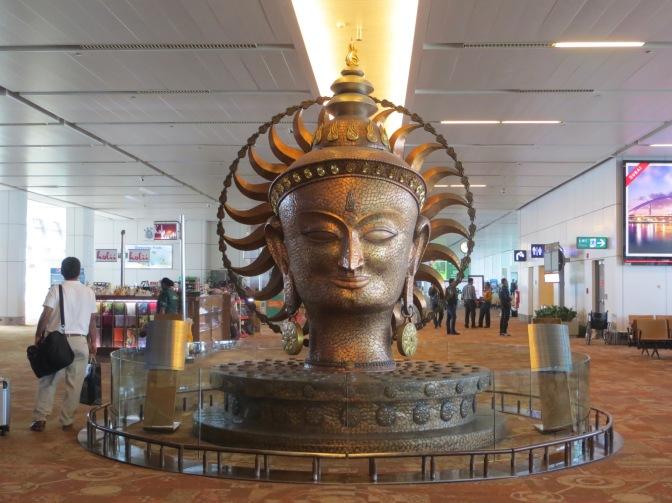 Arriving in Delhi