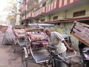 Varanasi Rickshaw driver