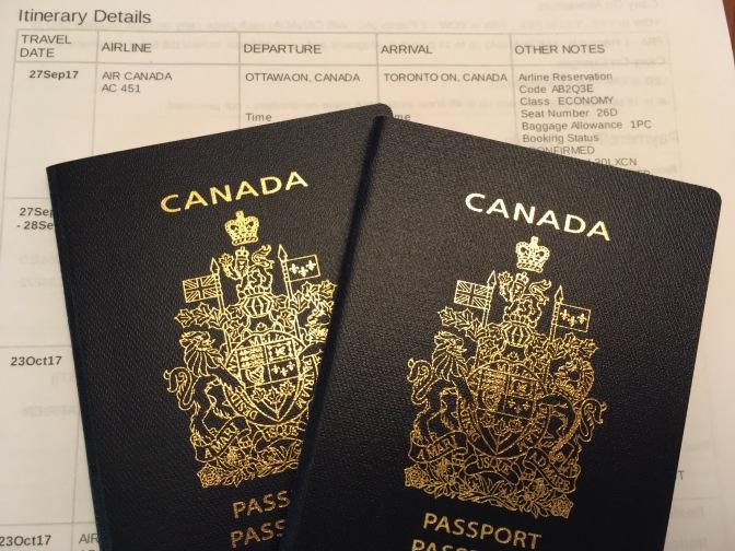 Have visa, will travel
