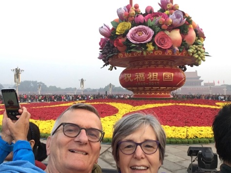 Flowerpot selfie (1)