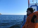 Ken on boat