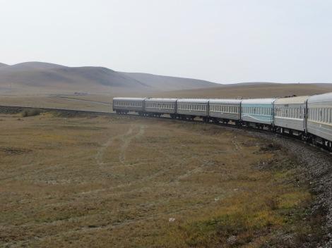 Mongolia Train2