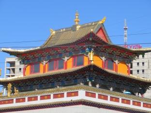 UB New Temple roof