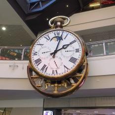 Clock opening