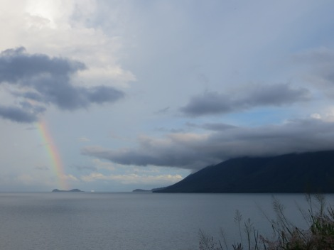 Rainbow over Double Island