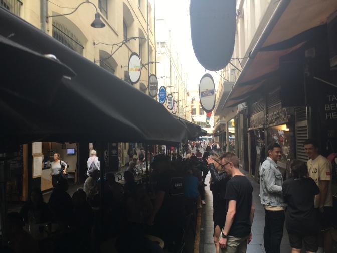 Making friends in Melbourne