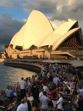 Sydneysiders enjoying a night out