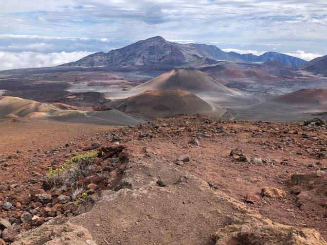 Walking in a Volcano