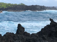 The ocean at Waianapanapa - photo Ken