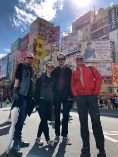 Patrick, Aubrie, Max, Ken - Akihabara