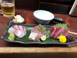 Sashimi, Gyoza No Miwa