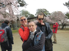 Un-typical tourists, my guys, Nara