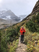 Ken on Plain of six glaciers trail