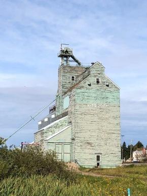 Kitscoty grain elevator