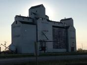 Lashburn grain elevator