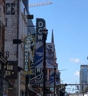 Street signs, Nashville